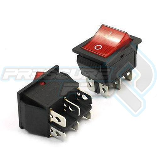 Rocker Switch 6 Pin